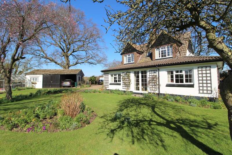 3 Bedrooms Detached House for sale in Smallholdings, Ashford