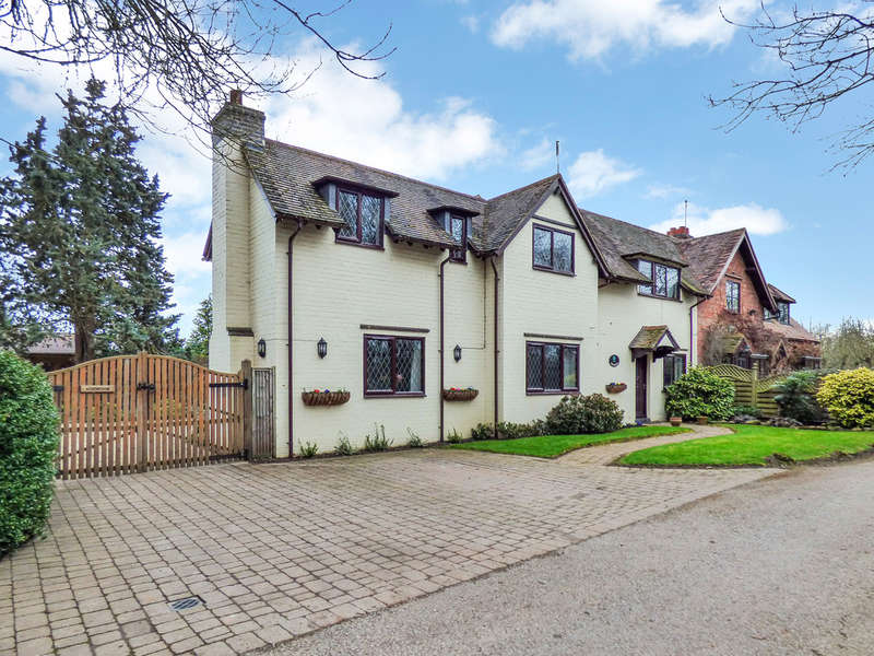 4 Bedrooms Semi Detached House for sale in Hunscote Lane, Wellesbourne