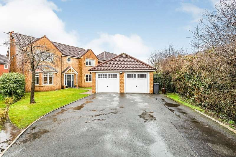 4 Bedrooms Detached House for sale in Barn Hey Drive, Farington Moss, Leyland, PR26