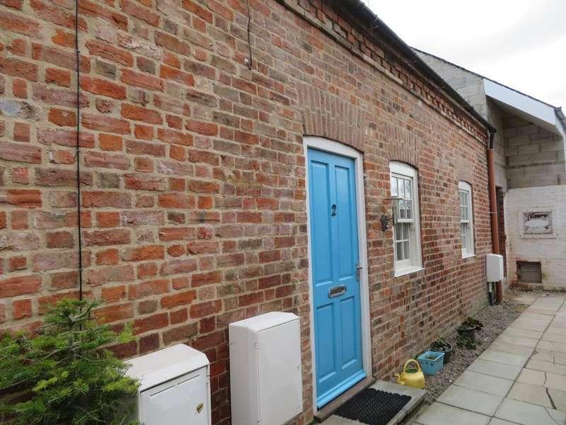 1 Bedroom Terraced House for sale in Fleur Cottages, Old Main Road, Fleet Hargate, Lincs, PE12 8LJ