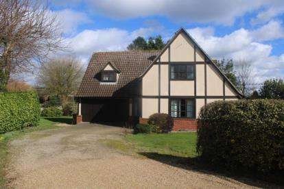 4 Bedrooms Detached House for sale in Onehouse, Stowmarket, Suffolk