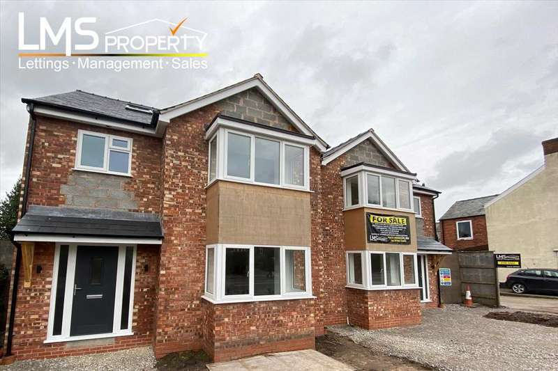 4 Bedrooms Detached House for sale in Swanlow Lane, Winsford