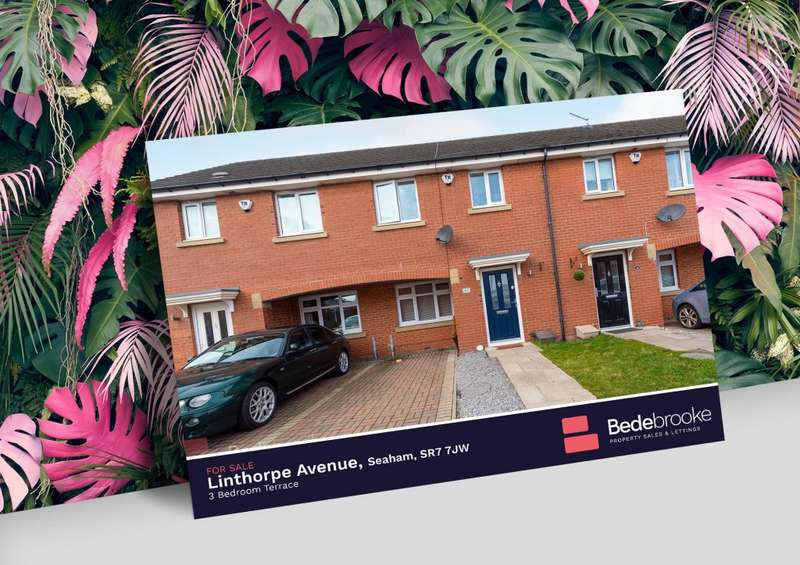 3 Bedrooms Terraced House for sale in Linthorpe Avenue, Seaham, SR7