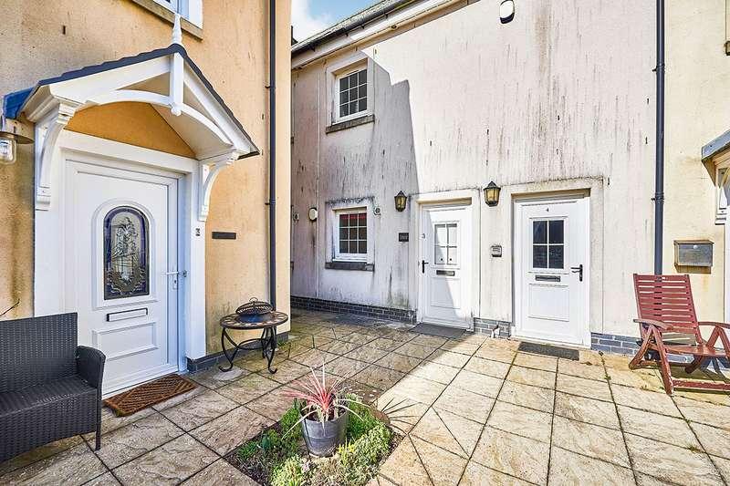 2 Bedrooms Apartment Flat for sale in Callanders Close, Garlieston, Newton Stewart, Dumfries and Galloway, DG8