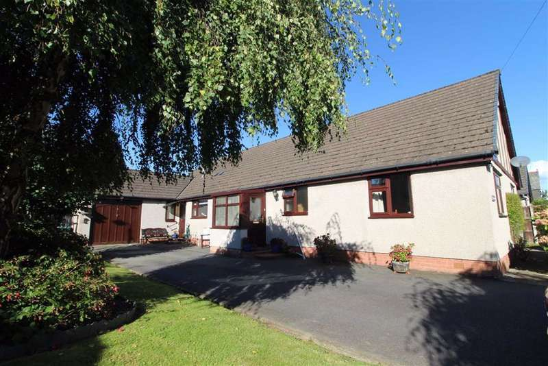 4 Bedrooms Detached Bungalow for sale in Betws Road, Llanrwst