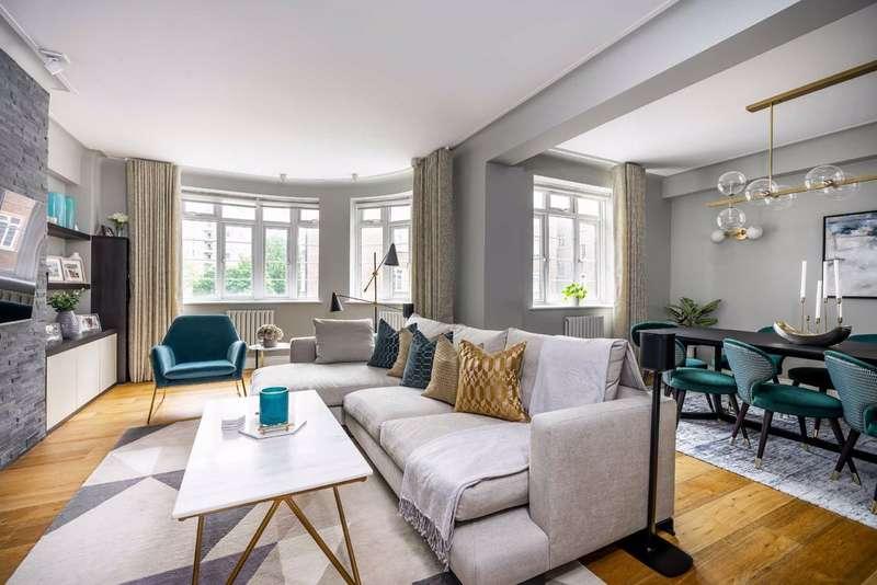 3 Bedrooms Flat for sale in Regency Lodge, London, NW3