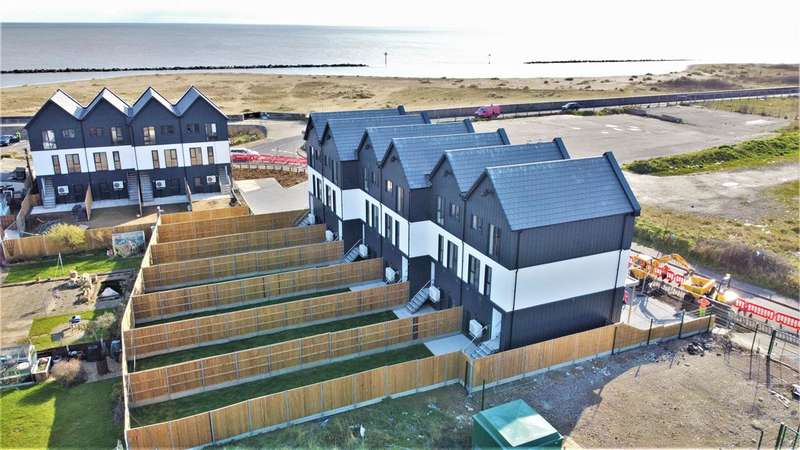 2 Bedrooms Terraced House for sale in Plot Two, Jaywick Sands Development, Jaywick