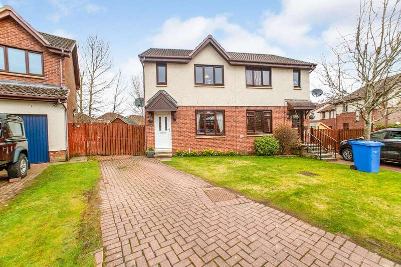 3 Bedrooms Semi Detached House for sale in Kaims Brae, Livingston Village, Livingston, West Lothian, EH54