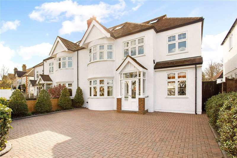 5 Bedrooms Semi Detached House for sale in Strawberry Vale, Twickenham, TW1