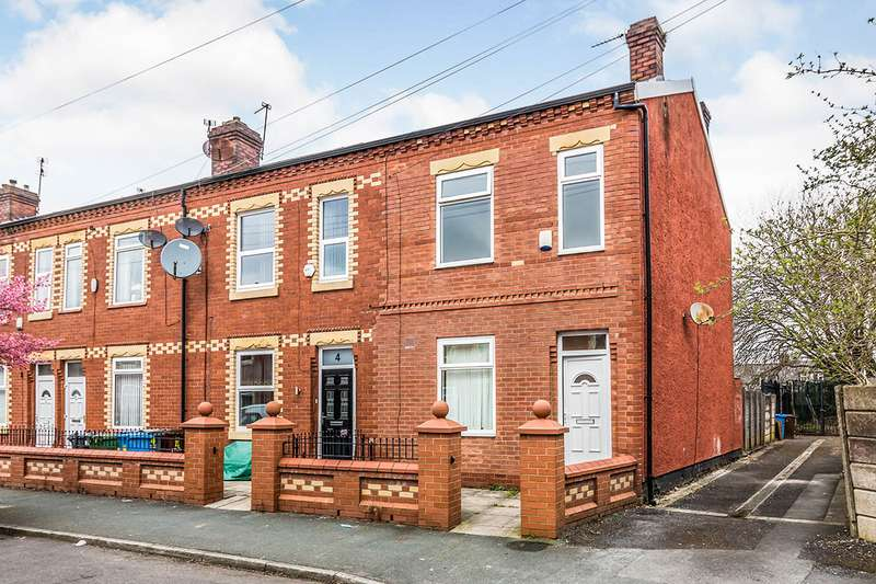 2 Bedrooms End Of Terrace House for sale in Ethel Avenue, Manchester, Greater Manchester, M9