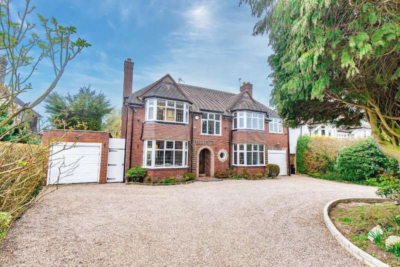 5 Bedrooms Detached House for sale in Fitzroy Avenue, Harborne, Birmingham, B17 8RQ
