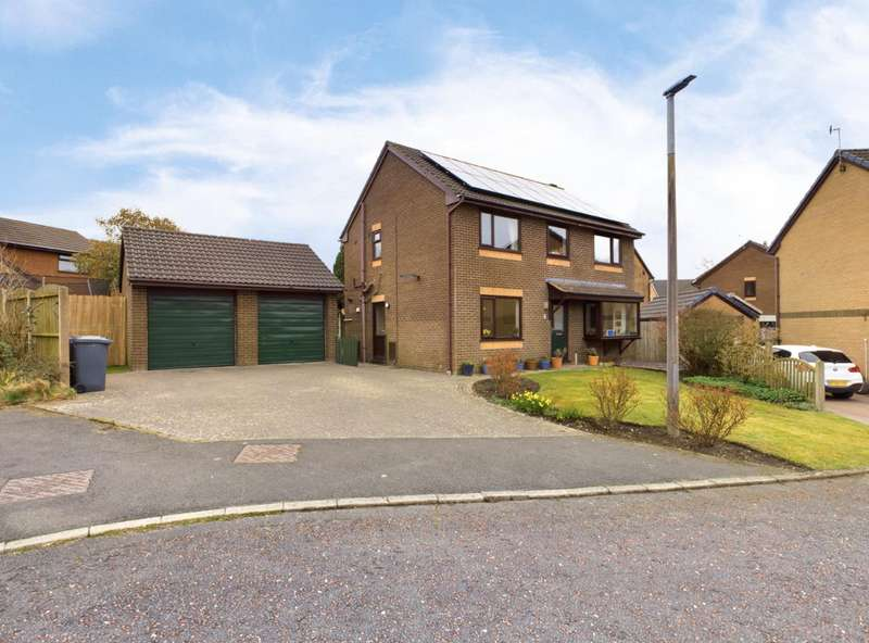 4 Bedrooms Detached House for sale in Detached Property On Greythwaite Court, Lancaster
