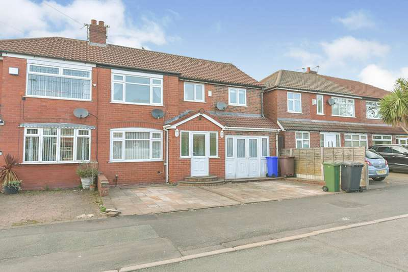 4 Bedrooms Semi Detached House for sale in Anson Road, Denton, Manchester, Greater Manchester, M34