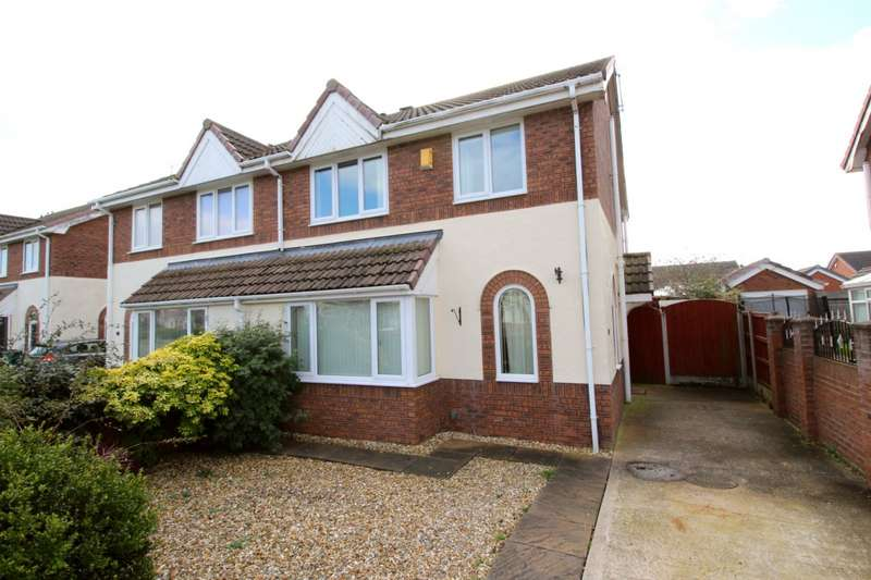 3 Bedrooms Semi Detached House for sale in Ffordd Y Berllan, Towyn, Abergele, Conwy, LL22