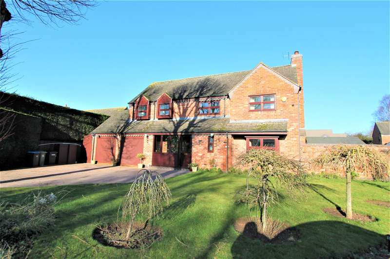 6 Bedrooms Detached House for sale in Bramley Orchard, Bushby, Leicestershire LE7