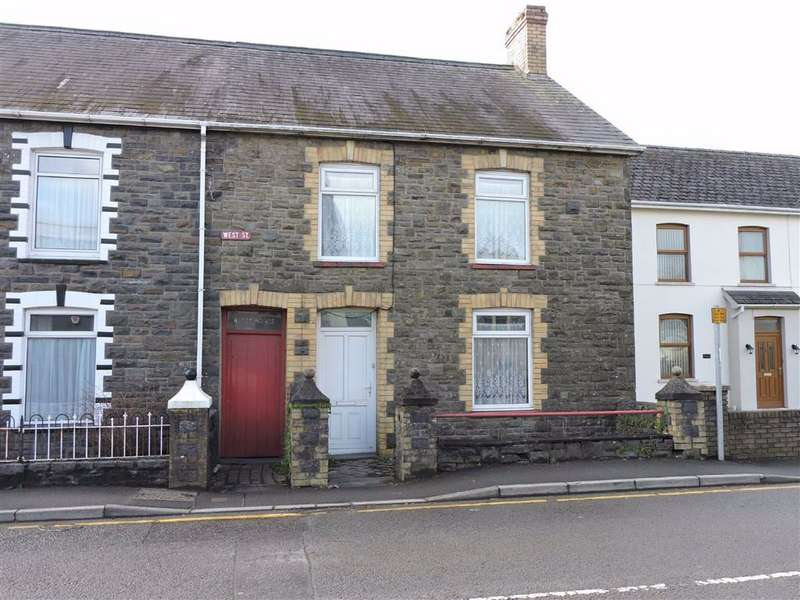 3 Bedrooms Semi Detached House for sale in West Street, Whitland, Carmarthenshire