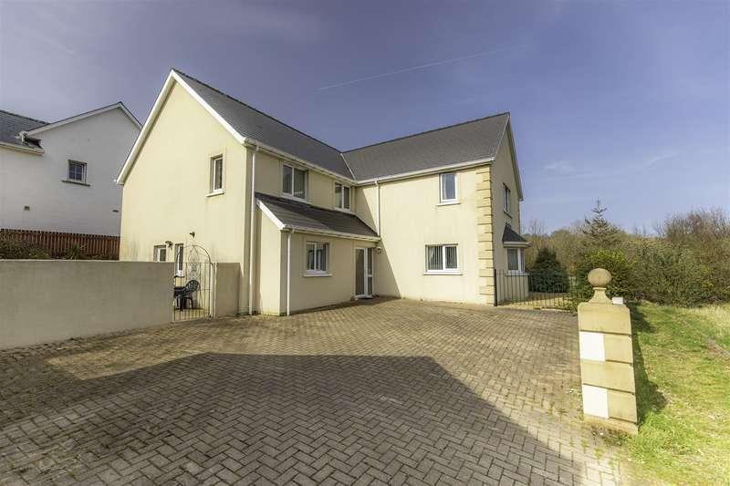 5 Bedrooms Detached House for sale in Hafan Gerdd, The Meadows, SA64 0JX