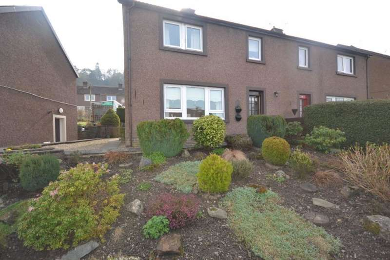 3 Bedrooms Semi Detached House for sale in 26, Heronhill Crescent Hawick, TD9 9RS