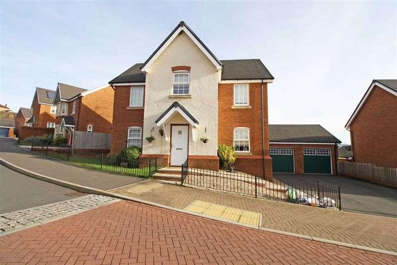 4 Bedrooms Detached House for sale in Tan Y Bryn Gardens, Llwydcoed, Aberdare, Mid Glamorgan