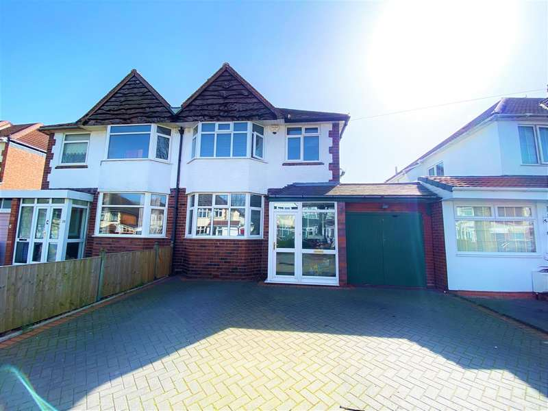 3 Bedrooms Semi Detached House for sale in Hobmoor Croft, Yardley, Birmingham