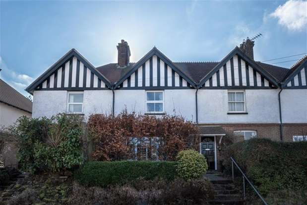 2 Bedrooms Terraced House for sale in Victoria Road, Mayfield, TN20