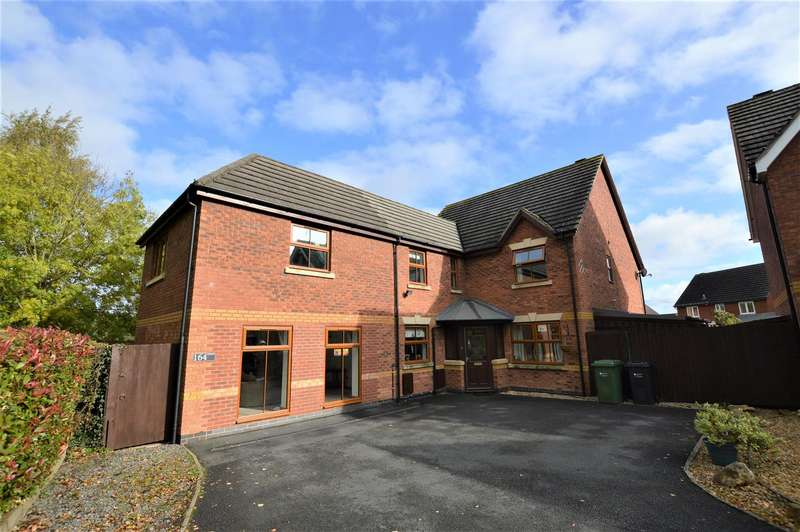 5 Bedrooms Detached House for sale in Godiva Road, Leominster