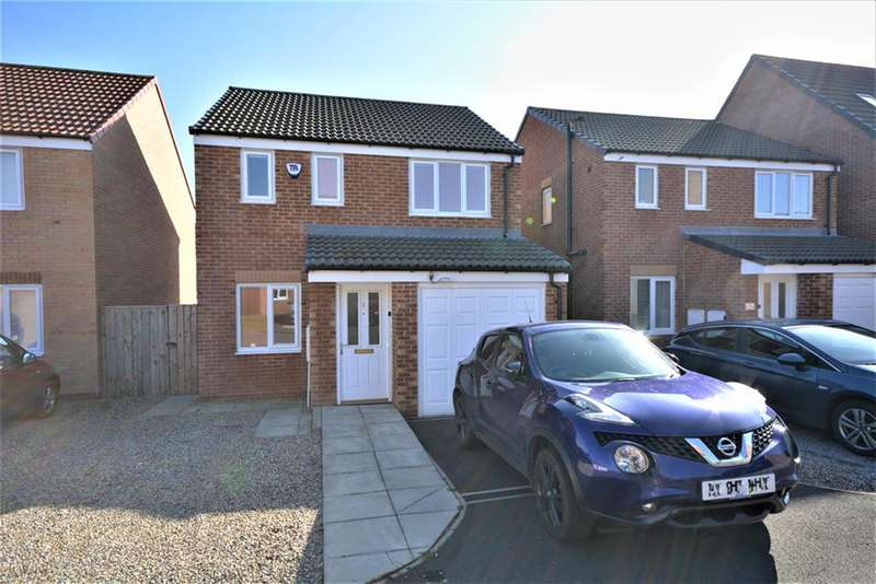 3 Bedrooms Detached House for sale in St. Thomas Court, Stanley, Crook, DL15 9UF