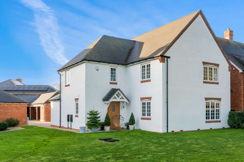 4 Bedrooms Detached House for sale in Campbell Close , Shottery , Stratford Upon Avon