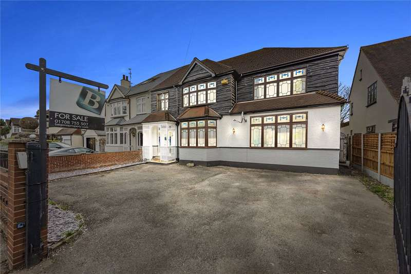 5 Bedrooms Semi Detached House for sale in Brentwood Road, Gidea Park, RM2