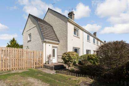 2 Bedrooms End Of Terrace House for sale in Glebe Road, Inverkip