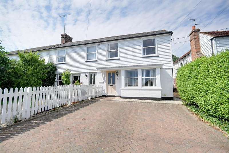 3 Bedrooms End Of Terrace House for sale in Northiam Road, Staplecross