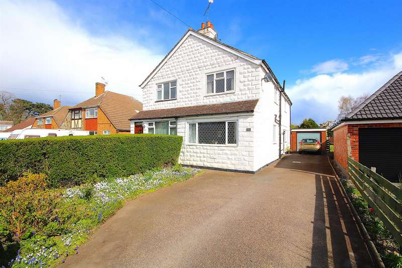 3 Bedrooms Semi Detached House for sale in Avenue Road, Queniborough