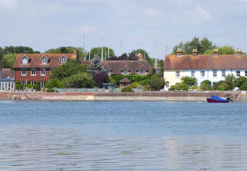 4 Bedrooms Detached House for sale in Shore Road, Bosham, Chichester, West Sussex, PO18