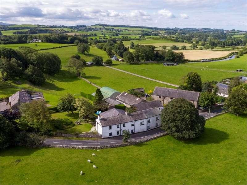 Detached House for sale in Mansergh Farmhouse and Nan's Cottage, Borwick, Carnforth, Lancashire
