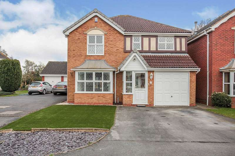 4 Bedrooms Detached House for sale in Dove Close, Bedworth, Warwickshire, CV12