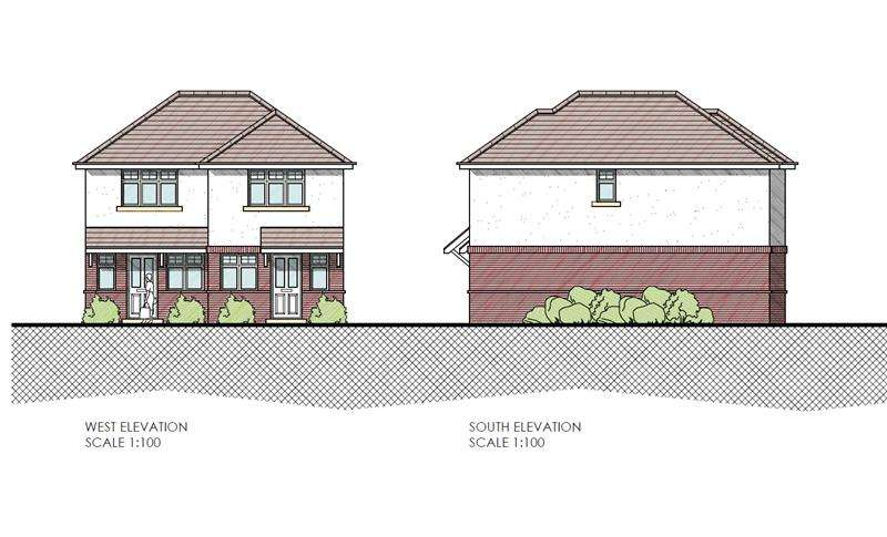 2 Bedrooms Semi Detached House for sale in North Avenue, Northbourne, Bournemouth