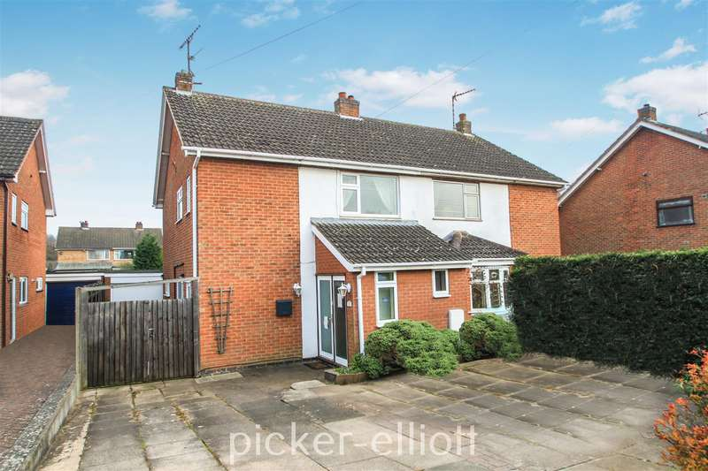 3 Bedrooms Semi Detached House for sale in Lismore Drive, Hinckley