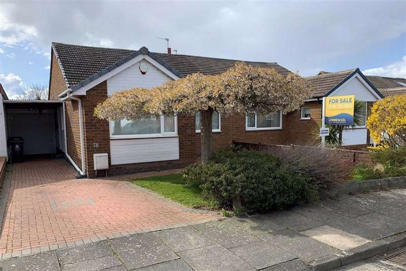 3 Bedrooms Semi Detached Bungalow for sale in Weardale Avenue, Forest Hall, NE12
