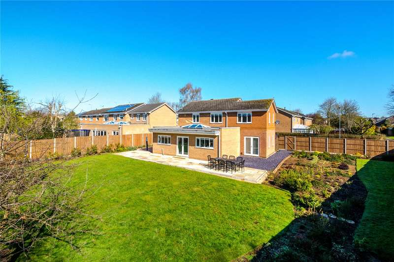 4 Bedrooms Detached House for sale in Wayford Close, Longthorpe, Peterborough, PE3