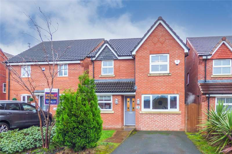 3 Bedrooms Detached House for sale in Everest Close, Dukinfield, Cheshire, SK16