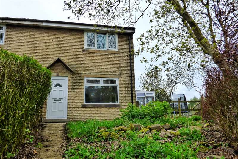 3 Bedrooms End Of Terrace House for sale in Green End Close, Bacup, Lancashire, OL13
