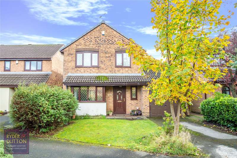 4 Bedrooms Detached House for sale in Roachwood Close, Firwood Park, Chadderton, Oldham, OL9
