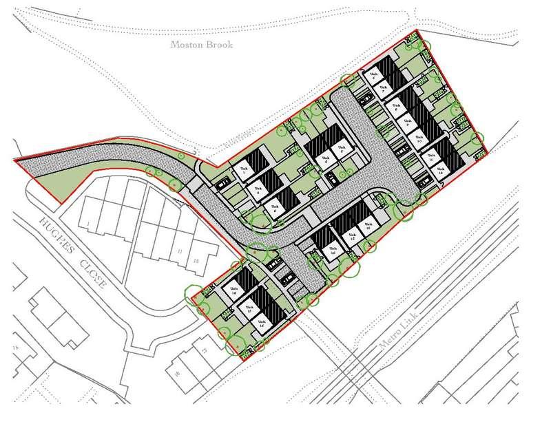 Land Commercial for sale in Land Off Hale Lane / Hughes Close, Hale Lane, Failsworth, Manchester, M35