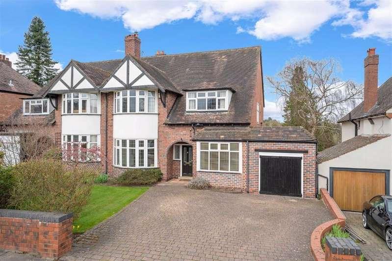 4 Bedrooms Semi Detached House for sale in Ravenhurst Road, Harborne