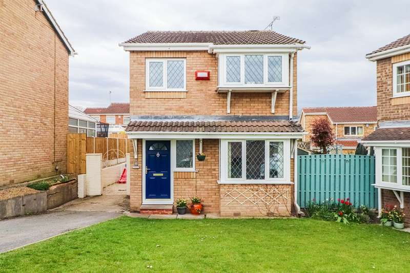3 Bedrooms Detached House for sale in Hastings Court, Altofts