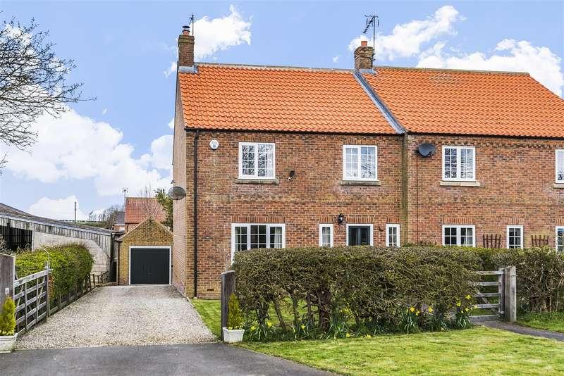 3 Bedrooms Semi Detached House for sale in The Brambles, Duggleby, Malton, North Yorkshire YO17 8BN