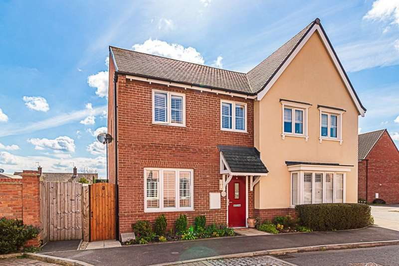 3 Bedrooms Semi Detached House for sale in St. Pauls Drive, Kedington