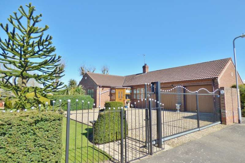 3 Bedrooms Bungalow for sale in Bramley Close, Fleet Hargate, Spalding