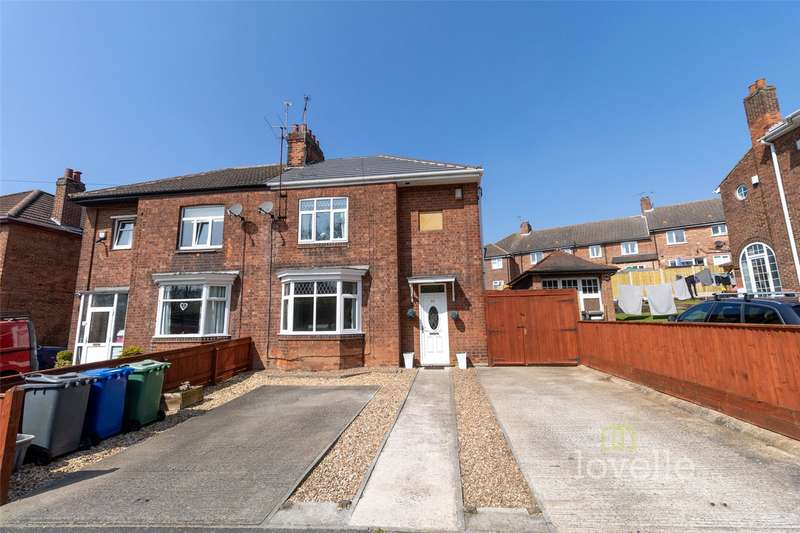 3 Bedrooms House for sale in Hawthorn Grove, Gainsborough, DN21