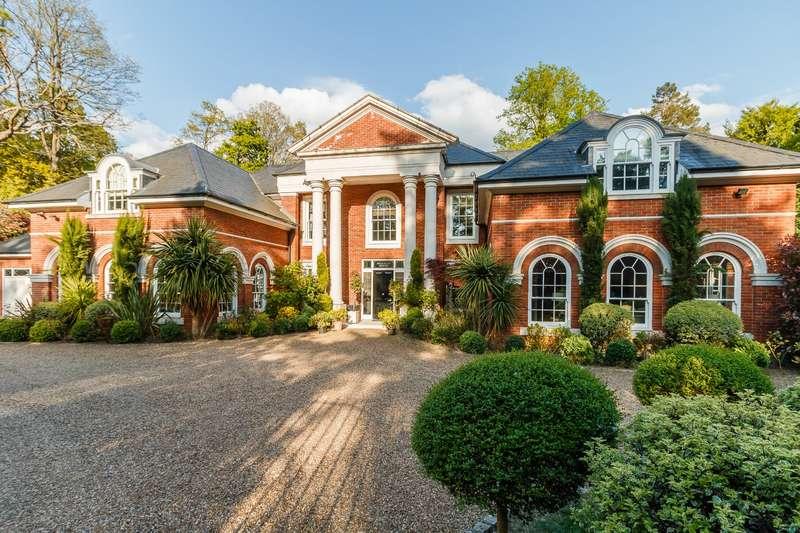 7 Bedrooms Detached House for sale in Woodlands Road West, Virginia Water, Surrey